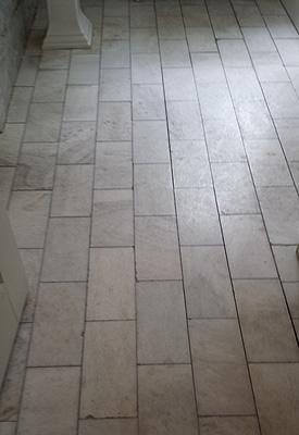 Marble Floor Diamond Polish Restoration